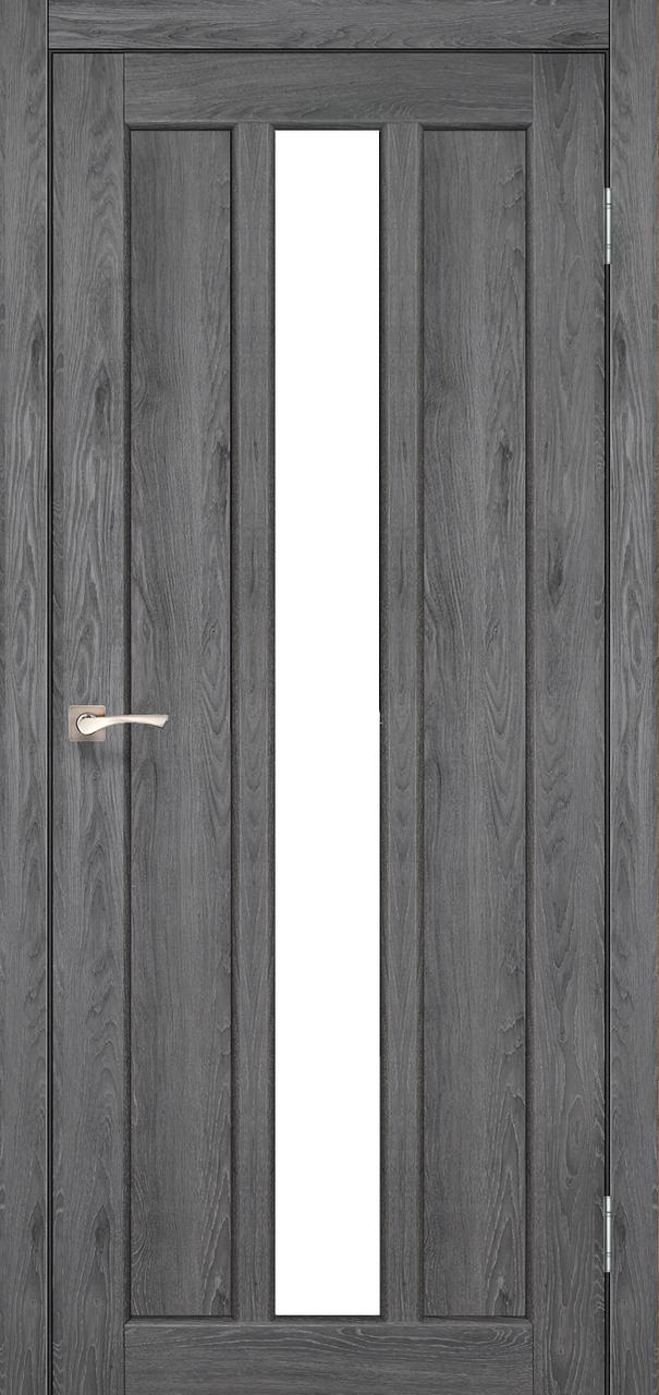 Двери KORFAD NP-03 Полотно+коробка+2 к-та наличников+добор 100мм, эко-шпон