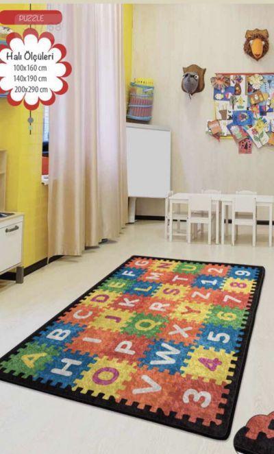 Ковер детский безворсовыйChilai Home 140 х 190 см., Puzle