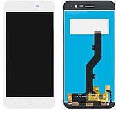 Дисплей (экран) для ZTE A520 Blade с сенсором (тачскрином) белый