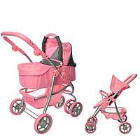 Коляска для кукол Melogo 9662 M розовый