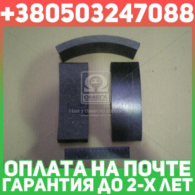 ⭐⭐⭐⭐⭐ Накладка тормоза ЗИЛ 130 передняя (производство  Фритекс)  130-3501105