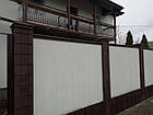 Парапет на забор на 250 мм, фото 3