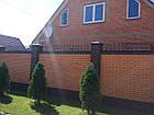 Парапет на забор на 250 мм, фото 6