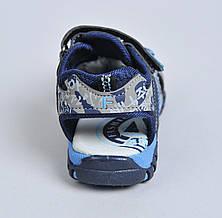 Сандали для мальчика (закрытый носок), фото 3