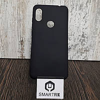 Силиконовый чехол для Xiaomi Redmi Note 6  Черный