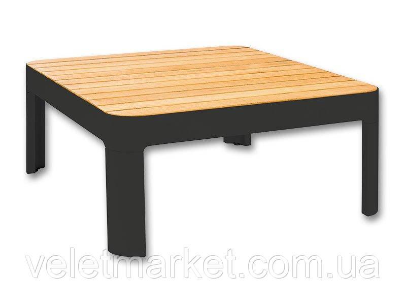 Садовый столик Portals (серый)
