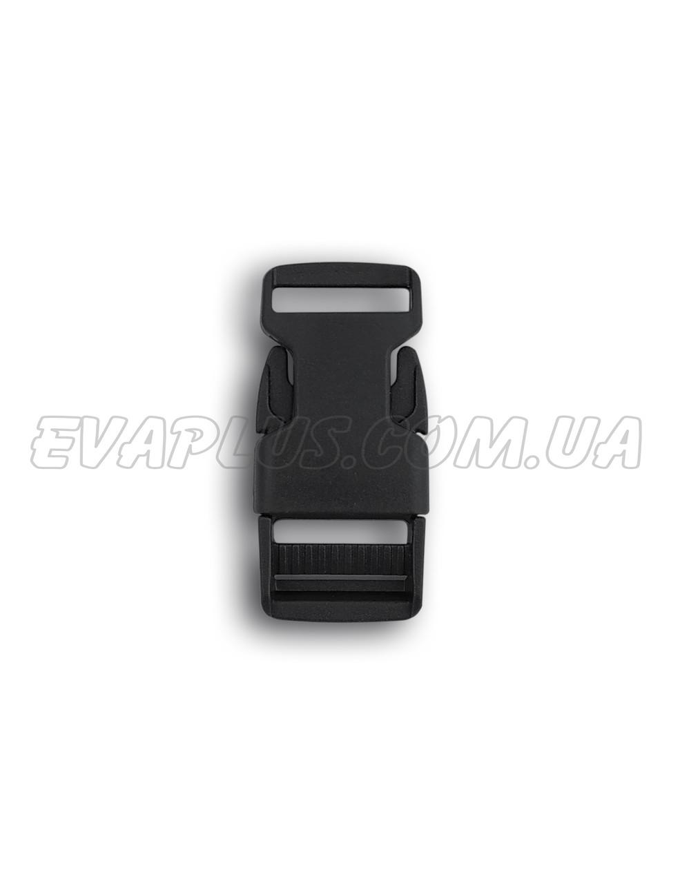 Фастекс пластиковый 15 мм черный (5514)