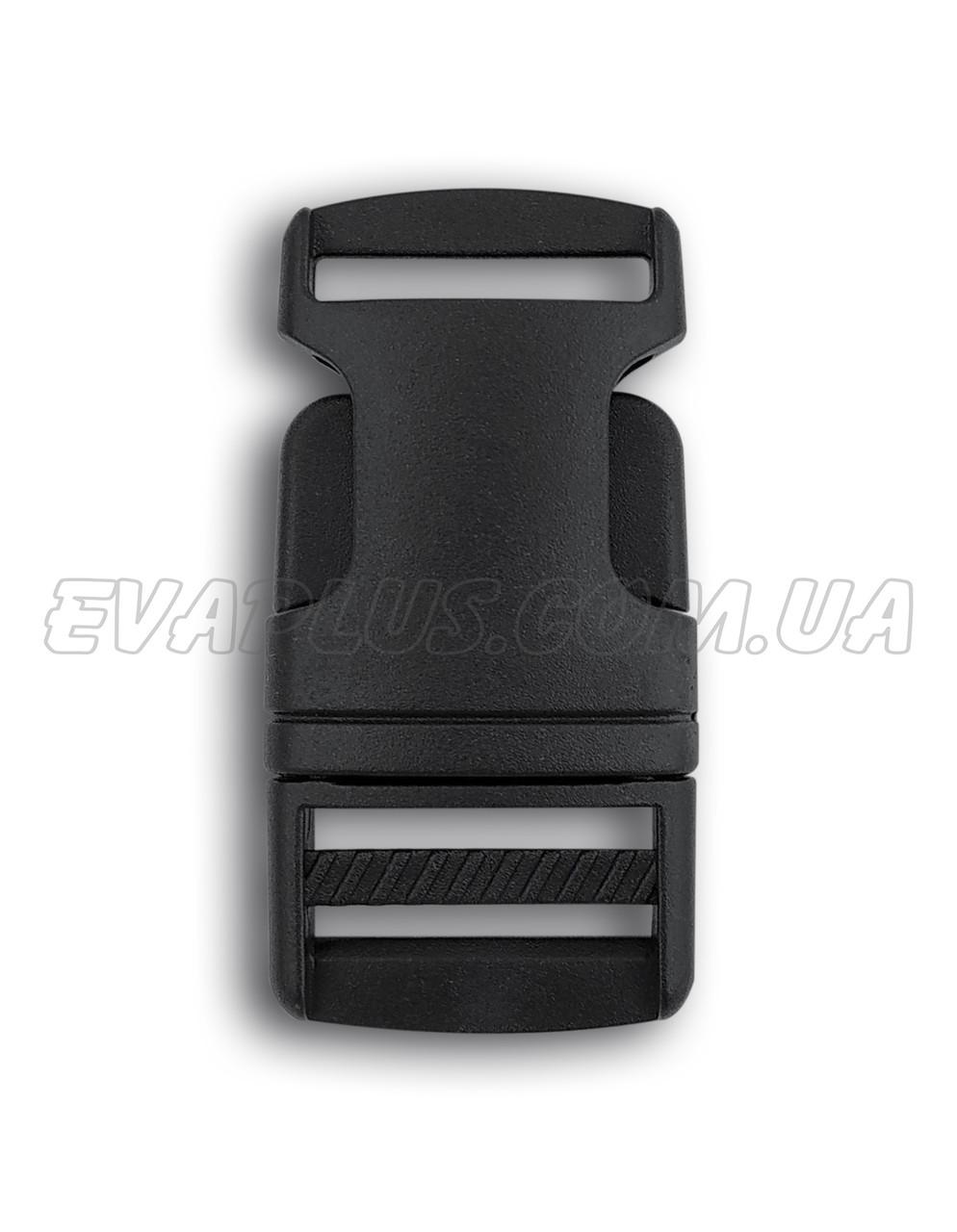 Фастекс пластиковый 25 мм черный (5512)
