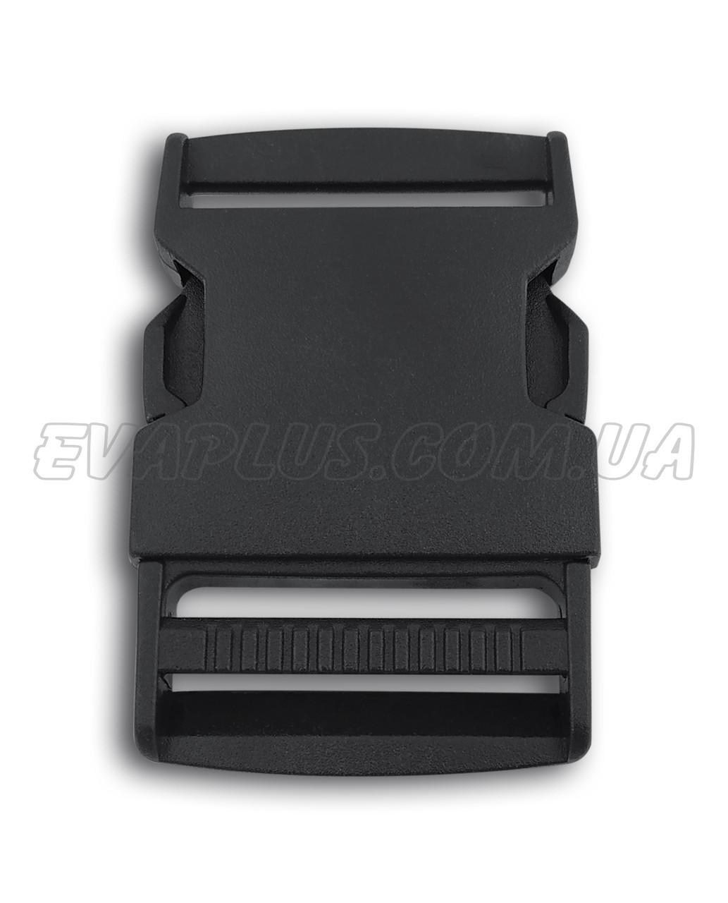 Фастекс пластиковый 38 мм черный (5509)
