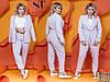Строгий деловой брючный костюм с пиджаком с 42 по 52 размер