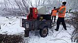 Подрібнювач гілок оренду з робітниками, фото 3