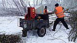Подрібнювач гілок оренду з робітниками, фото 4