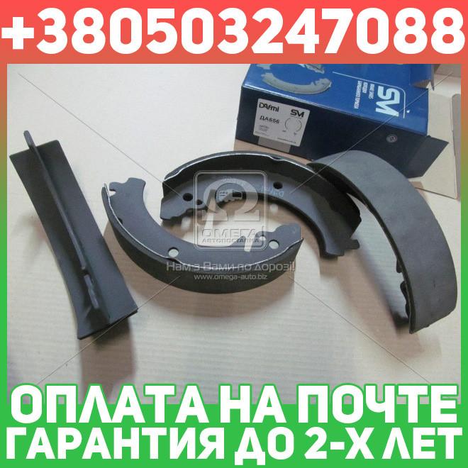 ⭐⭐⭐⭐⭐ Колодки тормозные ВАЗ 2101, 2102, 2103, 2104, 2105, 2106, 2107 задние (комплект 4шт.) (производство  Dafmi)  DA656
