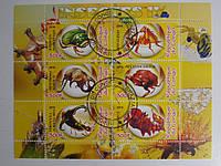 """Конго Блок """"Насекомые и бабочки"""" 2010 г., фото 1"""