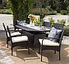 Комплект меблів  з штучного ротангу Carmela, садові меблі