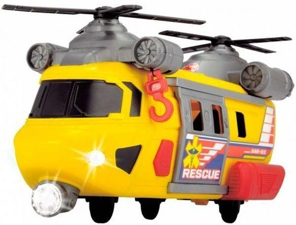 Вертолет Служба спасения с лебедкой,Dickie Toys3306004