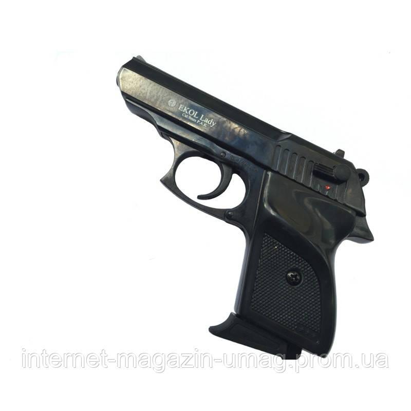 Пістолет стартовий Ekol LADY чорний