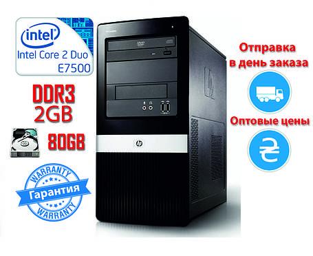 Системный блок HP 2 ядра 2.93GHz/2Gb-DDR3/HDD-80Gb, фото 2
