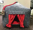 Домик лежанка со съемной подушкой для кота, собаки, дім для кота, лежак, спальне місце для кота, фото 2