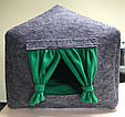 Домик лежанка со съемной подушкой для кота, собаки, фото 5
