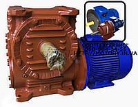 Мотор-редукторы червячные МЧ-125 -28  с электродвигателем 3 кВт