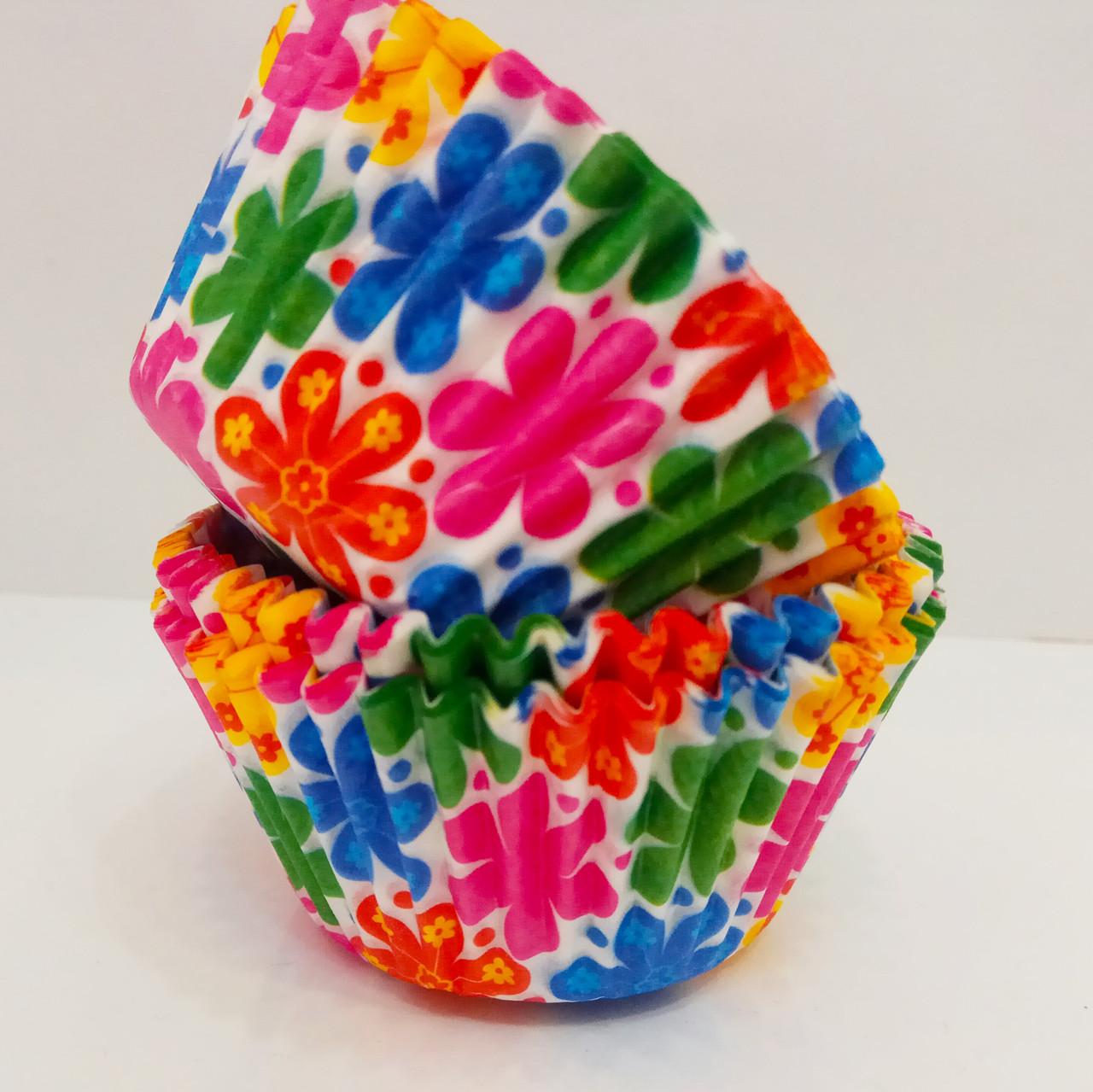 Форма бумажная для кексов тарталетка  500 шт.