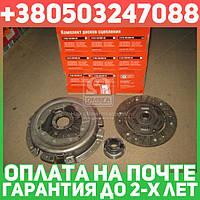 ⭐⭐⭐⭐⭐ Сцепление ВАЗ 2121 (диск нажимной+ведомый+подшник ) (производство  ОАТ-ВИС)  21210-160100000