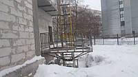 Строительный мачтовый подъемник., фото 1