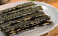 Водоросли Нори чипсы с кунжутным семя Seaweed - 10g