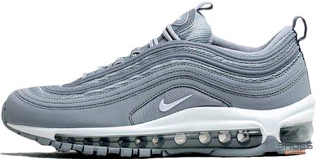 Женские кроссовки Nike Air Max 97 PRM Wolf Grey 312834-005, Найк Аир Макс 97, фото 2