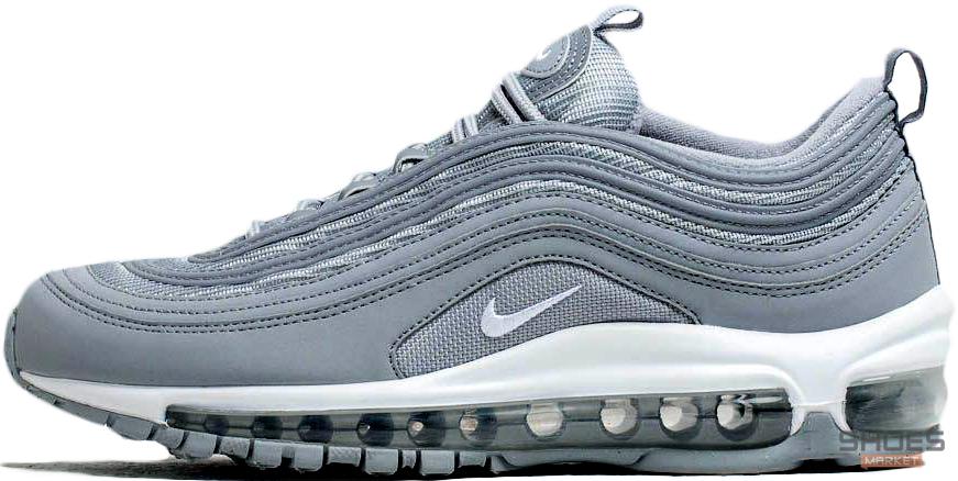 Женские кроссовки Nike Air Max 97 PRM Wolf Grey 312834-005, Найк Аир Макс 97