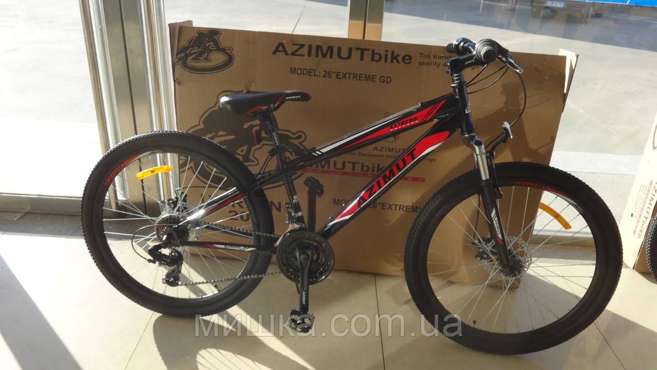 """Велосипед горный азимут  Extreme 26"""""""