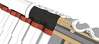 Лента коньковая GEO-Vent 390 мм×5м ( Коньковая вентиляционная лента )
