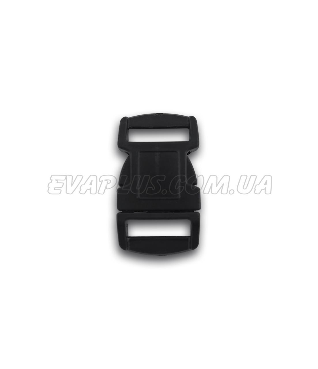 Фастекс пластиковый 10 мм черный (Л - 112)