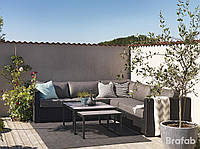 Меблі з штучного ротангу Ninja, меблі для саду та тераси, меблі для відпочинку, фото 1
