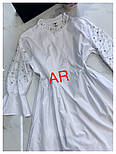 Женское стильное платье-туника с жемчугом (в расцветках), фото 2