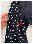 Женское стильное платье-туника с жемчугом (в расцветках), фото 7