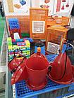 Ящик для перевозки птиц Mini Piedmont 770х570х290 мм двухдверный, фото 8