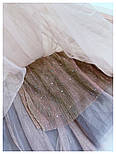 Женские фатиновая юбка-плиссе с пайетками (в расцветках), фото 4