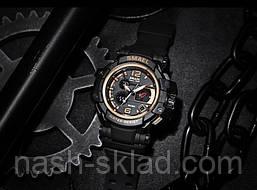 Мужские спортивные часы водостойкие Smael 1509, фото 3