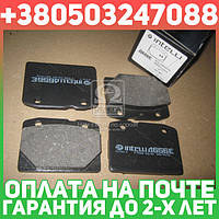⭐⭐⭐⭐⭐ Колодки тормозные ВАЗ 2101, 2102, 2103, 2104, 2105, 2106, 2107 передние (комплект 4шт.) (производство  Intelli)  D656E