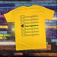 Champion Футболка мужская • вышитый лого • топ шмот