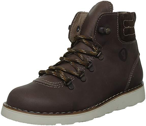 Зимние ботинки для мальчика Garvalin 121483  коричневые (р. 24-32)