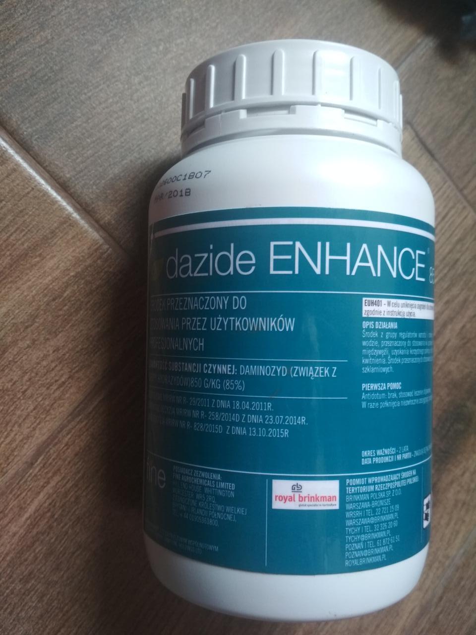 Ретардант роста Dazide ENHANANCE 85 SG регулятор роста для цветущих растений