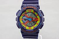 Спортивные наручные часы Casio G-Shock ga-110 Blue Касио реплика