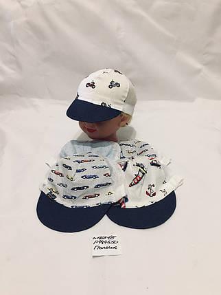 Детская кепка для мальчика Гонки,р.44,46,50,коттон, фото 2