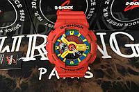 Спортивные наручные часы Casio g-shock Ga-110 All Red AAA Касио реплика