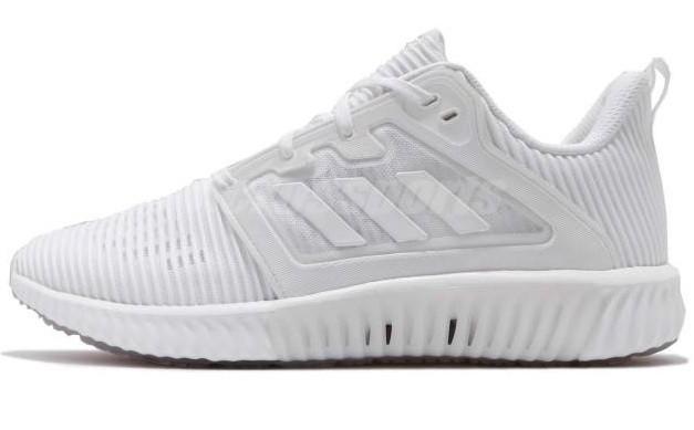 ab9e57710 Мужские кроссовки Adidas Climacool Vent White (адидас климакул, белые) -