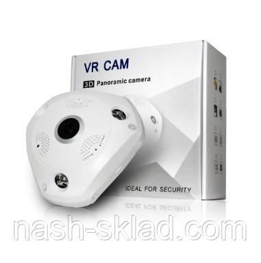 Панорамная Wi-Fi IP камера 360° (рыбий глаз)