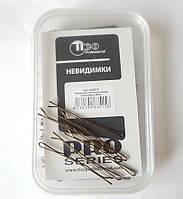 Невидимки Tico 60 мм коричневые